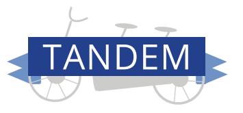 TANDEM bike logo